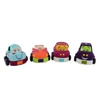 回力车迷你玩具车儿童惯性滑行小汽车套装