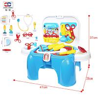 儿童医生玩具宝宝护士听诊器打针男女孩过家家玩具套装仿真箱