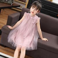 公主裙女童 蓬蓬纱夏装新款洋气连衣裙