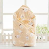 娃俊 新款秋冬云貂绒包被 婴幼儿童睡袋抱被 春秋抱毯