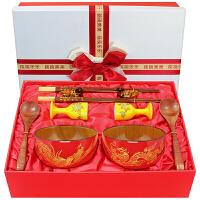 新婚礼物创意结婚*实用碗筷闺蜜朋友婚庆婚礼贺礼个性浪漫