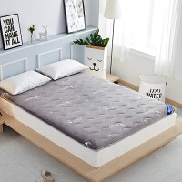 加厚榻榻米床�|1.2米1.5米�p人床褥1.8m床地�睡�|可折�B�|被