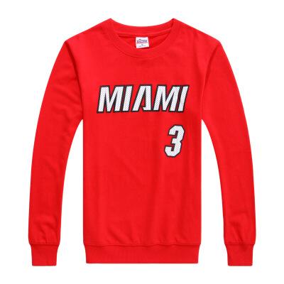 20180317082347674热火韦德3号篮球运动卫衣时尚潮流训练服篮球长袖T恤 发货周期:一般在付款后2-90天左右发货,具体发货时间请以与客服协商的时间为准