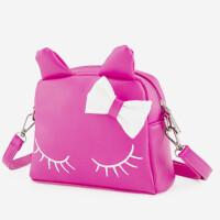 儿童斜挎包可爱卡通宝宝包包公主单肩包女童猫咪背包小孩斜跨包