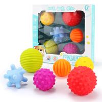 男孩婴儿玩具0-1岁抠洞洞宝宝3-6-12个月手抓球球类男孩女孩软胶早教 育儿 手抓球6件套