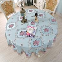 餐桌布布艺欧式圆桌布台布茶机桌布正方形长方形现代简约现代滑T