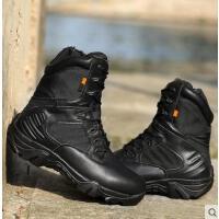 户外军迷鞋靴特帮战术靴飞行靴军鞋种兵野战沙漠军靴男士高