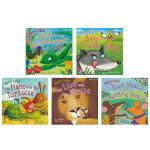 Aesop's Fables 5 Books Collection伊索寓言五本套装绘本英文原版进口图书 儿童英文启蒙绘