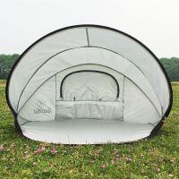 户外简易沙滩帐篷海边单人双人遮阳棚全自动速开野营用品防雨防风SN7720