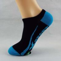 韩观袜子男浅口低帮运动短袜男士短筒运动棉袜夏季休闲船袜隐形袜 39-42