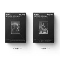 正版 EXO新专辑6 六辑 OBSESSION CD+小票+海报+写真 实体唱片