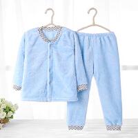 秋冬季男女童珊瑚绒家居服套装儿童睡衣裤法兰绒宝宝小孩套装