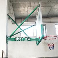 篮球架挂式家用训练室内标准户外钢化玻璃篮球板壁挂式篮球架