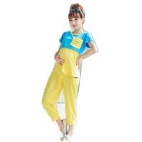 慈颜孕妇装月子服时尚外出哺乳装韩版运动家居服套装ZMM50