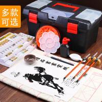 马利牌国画工具套装颜料中国水墨工笔画小学生初学者初学入门12色