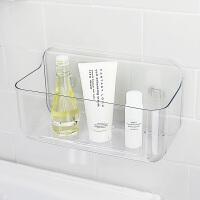日本爱尚佳品吸盘浴室置物架免打孔厨房收纳架浴室挂件塑料D3012
