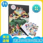童话立体书 Fairy Tale Play 英文原版3d立体纸板书 儿童剧本 童话故事角色扮演 A pop-up st