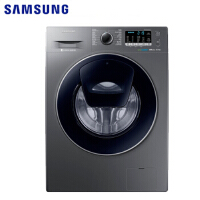 三星(SAMSUNG) WW80K5210VX/SC 8公斤大容量超薄变频安心添衣 滚筒全自动洗衣机 灰色 WW80K