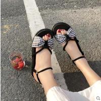 户外新品网红同款一鞋两穿罗马凉鞋女仙女风ins潮学生百搭新款沙滩鞋