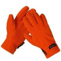 男女通用时尚简约保暖户外抓绒手套 户外运动登山骑行加厚防寒保暖棉绒手套