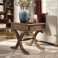 【1件3折 领券】美式古典实木角几 简约现代客厅沙发桌小茶桌家具