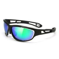骑行眼镜户外运动防风骑行自行车跑步眼镜 可换镜腿