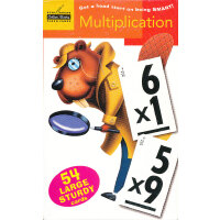Multiplication (Flash Cards, Little Golden Book) 乘法(金色童书,学习