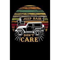 【预订】jeep hair dont care: funny Lined Notebook / Diary / Jou