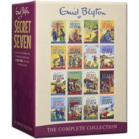 【英文原版】Secret Sev七个小神探 系列16册全集 伊妮德・布莱顿作品