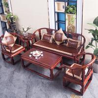 夏天红实木沙发垫客厅藤席凉垫夏季冰丝凉席坐垫加厚麻将坐垫防滑
