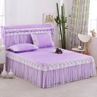公主蕾丝床裙1.8米床罩单件花边床笠席梦思保护套床套