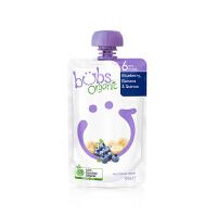 【网易考拉】organic bubs 澳洲贝儿 有机果蔬泥 蓝莓香蕉藜麦味 120克 6个月起