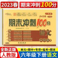 期末冲刺100分六年级下册语文 人教部编版 2021春新版期中期末测试卷