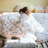 家纺小清新全棉四件套纯棉学生宿舍单人床上三件套床单被套公主风