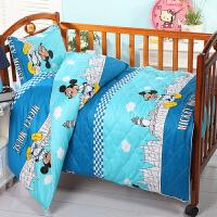 三件套儿童被褥含芯床垫 宝宝午睡儿童六件套纯棉被褥 其它