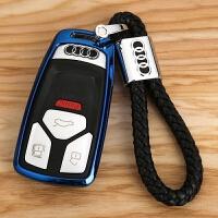27185新A4L钥匙套 适用于奥迪新Q7扣TTS壳改装 新款A5钥匙包