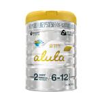 新客试用 alula爱羽乐2段较大婴儿配方奶粉( 6-12个月)900g