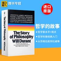 哲学的故事 英文原版 The Story of Philosophy 哲学简史 威尔杜兰特 通俗哲学入门读物 Will