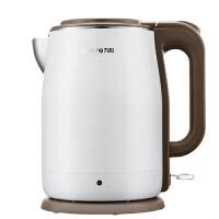 九阳 K15-F5 电热水壶 食品级304不锈钢开水煲双层防烫无缝内胆1.5L