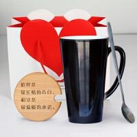 变色创意DIY定做可印照片定制马克情侣恒温一对水杯子魔术女生日礼物