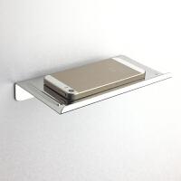 卫生间手机托 免不锈钢卫生间手机架子小置物架厕纸架浴室托盘 免
