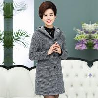 中老年女装风衣秋装40-50岁中年妇女妈妈装中长款大码上衣外套
