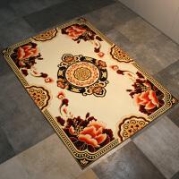 欧式客厅地毯茶几地毯家用榻榻米地垫卧室床边满铺地毯可机洗定制