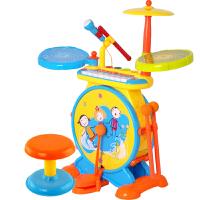 儿童玩具钢琴宝宝电子琴敲击乐器架子鼓初学音乐玩具男孩女孩