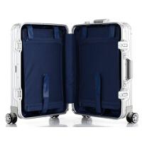 金属全铝合金男女拉杆箱旅行箱商务铝镁合金万向轮行李箱登机箱包