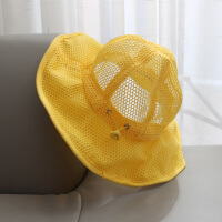 宝宝遮阳帽夏季薄款婴儿帽子渔夫帽1-3岁儿童防晒