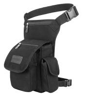 户外多功能战术大腿包军迷包骑行腰腿包男包运动帆布腰包手机包