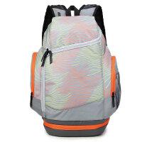 双肩包男运动包篮球背包休闲女书包大容量户外旅行包登山包健身包 -55升