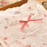梦蜜 夏季纯棉纱布月子服 日系孕妇装 哺乳衣