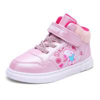史努比童鞋儿童棉鞋冬季新款加绒保暖运动鞋